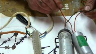 How to do it: run a 3 phase motor on single phase supply. part 2