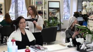 видео брондирование темных волос в домашних