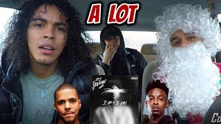 21 SAVAGE X J COLE - A LOT (REVIEW REACTION)
