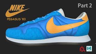 [Texturing/Shading] Nike Air P…