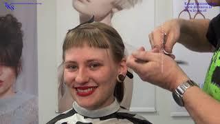 I love to get a Dark Grayish Straight Clipper Bob and a Baby Fringe Naomi tutorial by TKS