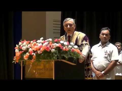 Nalsar University of Law | CJI , Justice T.S Thakur | Inspirational Speech for Law Students