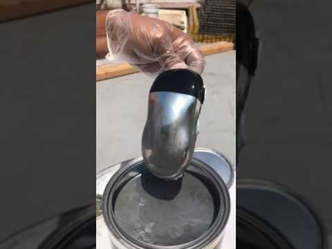 Alsa Chrome paint can be DIPPED