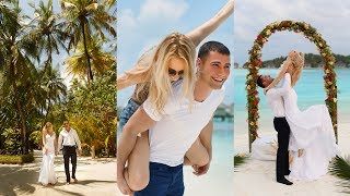 Maldives Wedding in Paradise. Pavel and Valeria. Cinnamon Dhonveli island