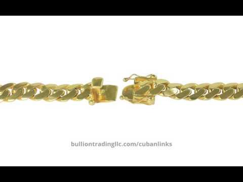 14K Miami Cuban Link Bracelet 64.14 grams (9.5mm) | 212-997-2520