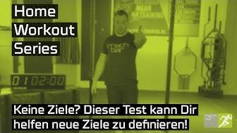 Home Workout Series   Teste Dich ohne Equipment   Setzte Ziele deine