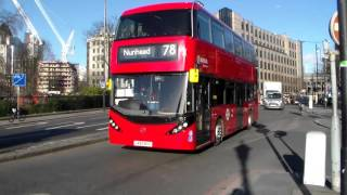 Arriva London HA3 LK65BYZ at Tower Hill
