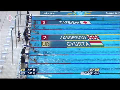 Gyurta Dániel: London 2012 - férfi 200 m mellúszás döntő (aranyérem, világrekord)