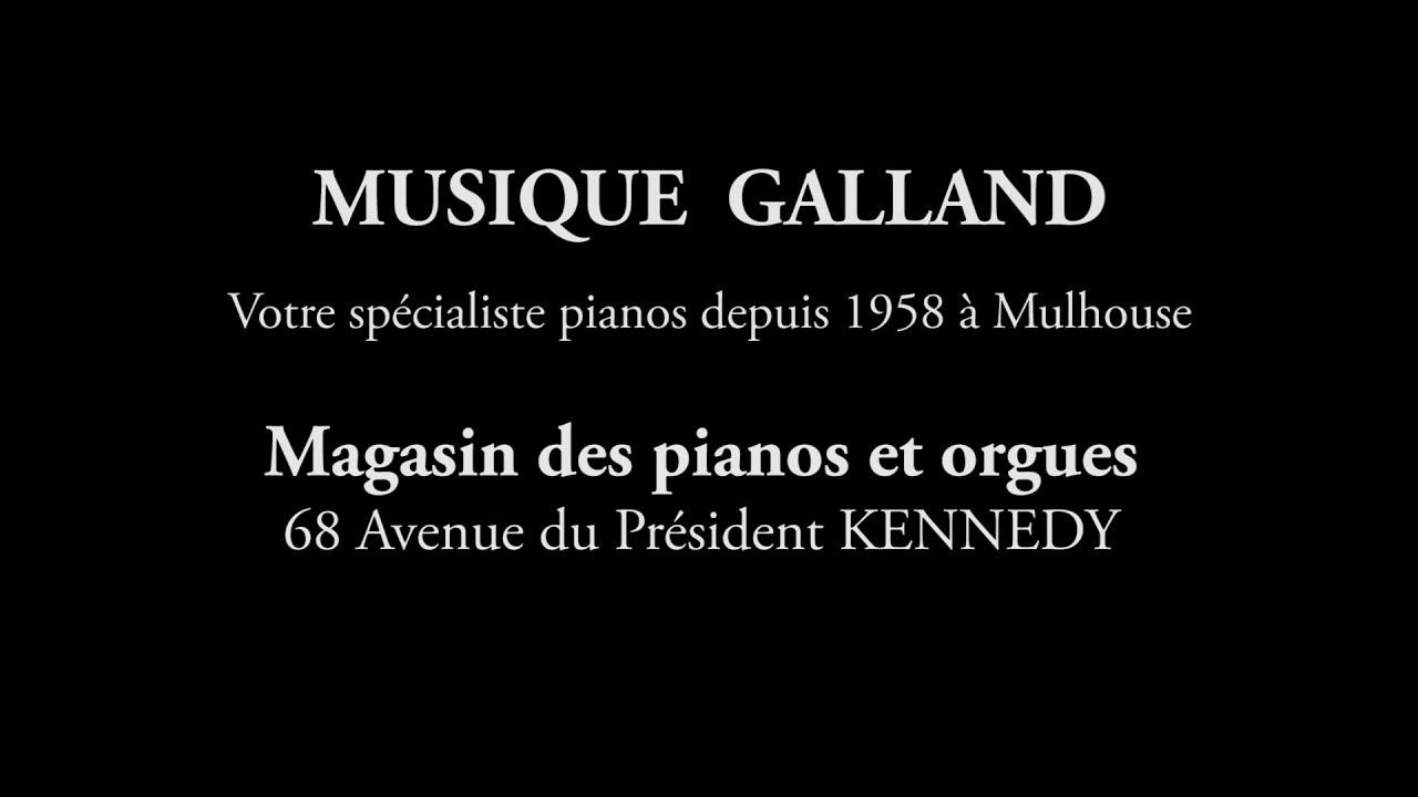 MUSIQUE GALLAND le showroom des pianos et orgues à Mulhouse
