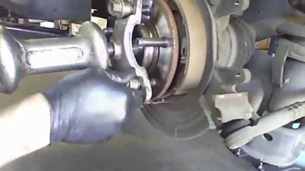 rear wheel bearing replacement overview   ford explorer  complete rear disc brakes