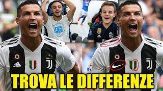 TROVA LE DIFFERENZE con i CALCIATORI!!! - ENRY LAZZA vs FIUS GAMER