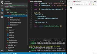 Learning MEAN Stack by Building Real world Application : Creating Module using Angular-cli