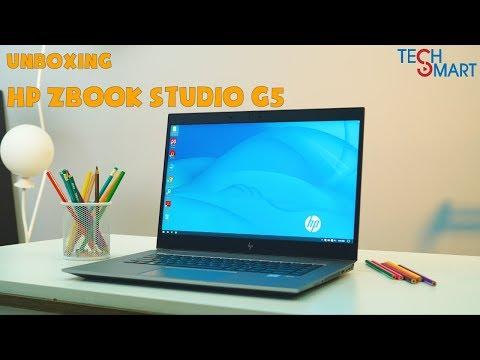 Mở Hộp Nhanh Sản Phẩm Zbook Studio G5 | Techsmart VN