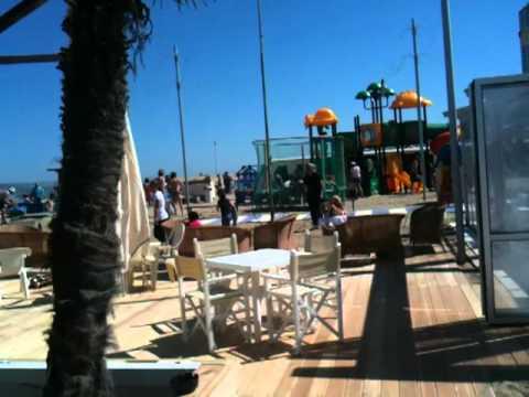 Bagno romeo spiaggia cesenatico nuova pedana in legno youtube