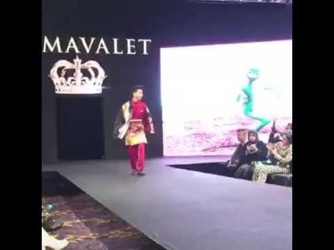 As'ad Motawh  Jatuh Semasa Primavalet Fashion HUB 2018, Raya Collection
