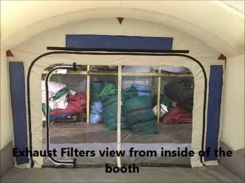 Portable Paint Booth >> Portable Paint Booth Set Up Instructions Youtube