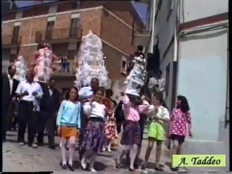 1992 10 - Accettura - S. Giuliano verso il Maggio