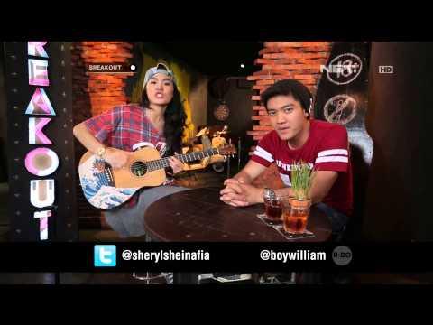 Sheryl Sheinafia dan Boy William - Pergi Untuk Kembali ( Ello Cover )