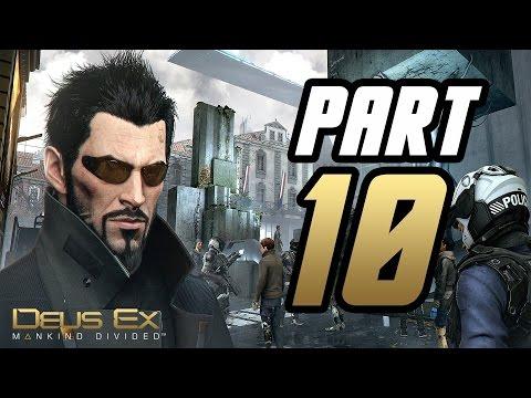 ► Deus Ex: Mankind Divided   #10   Golem City!   CZ Lets Play / Gameplay [1080p] [PC]
