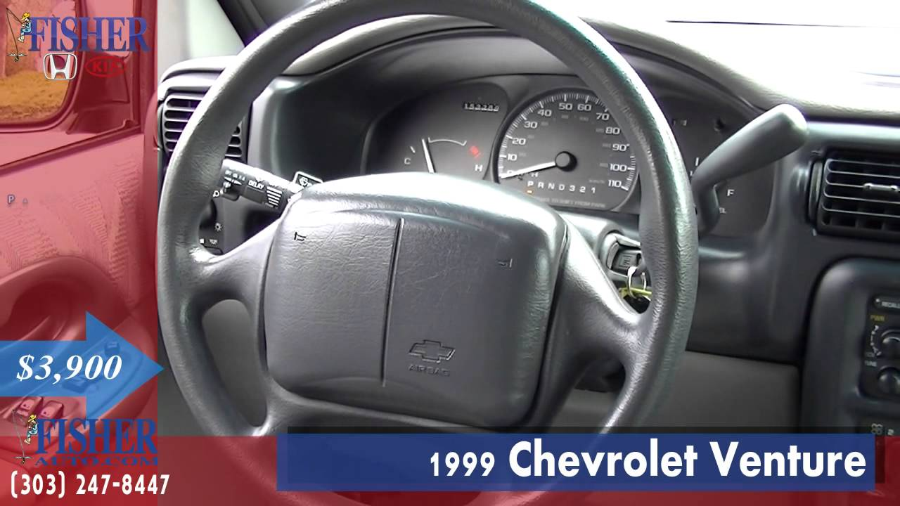 used cars 1999 chevrolet venture boulder longmont denver fisher auto 142297a youtube. Black Bedroom Furniture Sets. Home Design Ideas