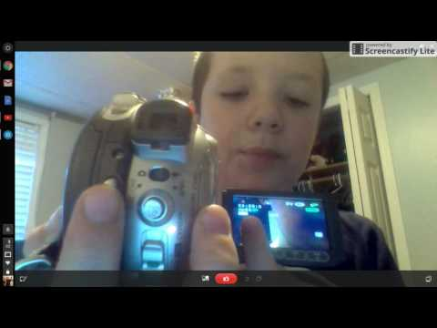 DVD CAMCORDER DC220 Canon Camcorder Review/tutorial