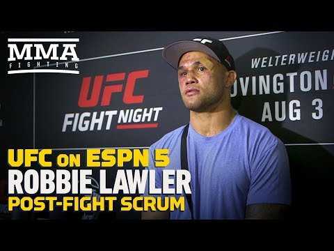 UFC on ESPN 5: Robbie Lawler Calls Loss 'Learning Experience' - MMA Fighting