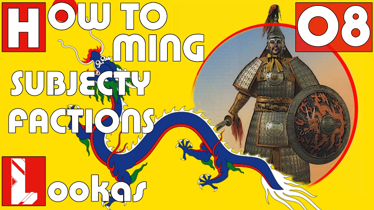 How to Ming | Subjecty | Factions | PORADNIK EU 4 | Europa Universalis IV |  #8/8