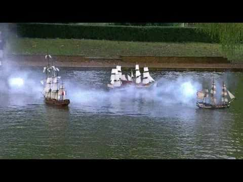 Sailing Ships At Beal Park