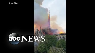 French President reacts to Notre Dame cathedral fire: 'We will rebuild it'