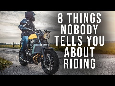 8 Things Nobody Tells You About Riding Motorcycles