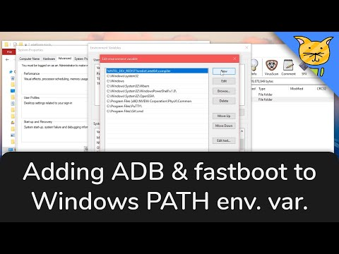 How To Setup ADB & Fastboot To Be Used Anywhere On Windows