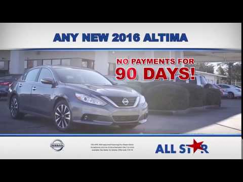 All Star Nissan - July 2016 Commercial - 0% APR Financing on 2016 Nissan Altimas