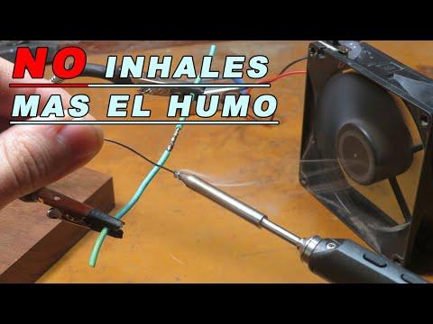 Extractor De Humo Al Soldar Simple Y Efectivo Youtube