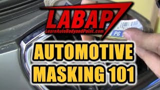 Automotive Masking Tips - How To Tape a Car - How To Mask a Car for Painting (hot topic!)
