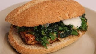 Broccoli Rabe And Chicken Sandwich - Laura Vitale - Laura In The Kitchen Episode 327