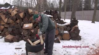 Splitting Firewood - The Art And Science