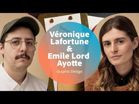 Live Graphic Design with Véronique Lafortune & Emile Lord Ayotte - 2 of 3
