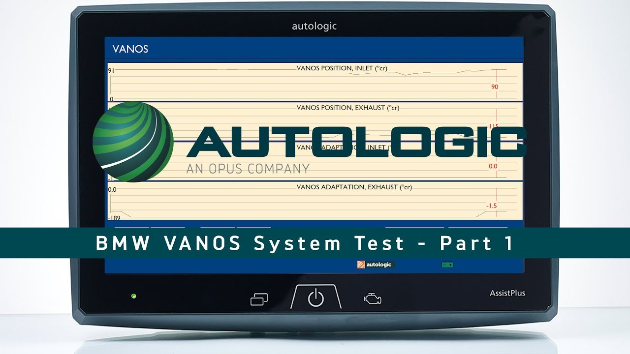 BMW VANOS System Fault Testing and Diagnosing