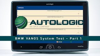 BMW VANOS System Test - Part 1