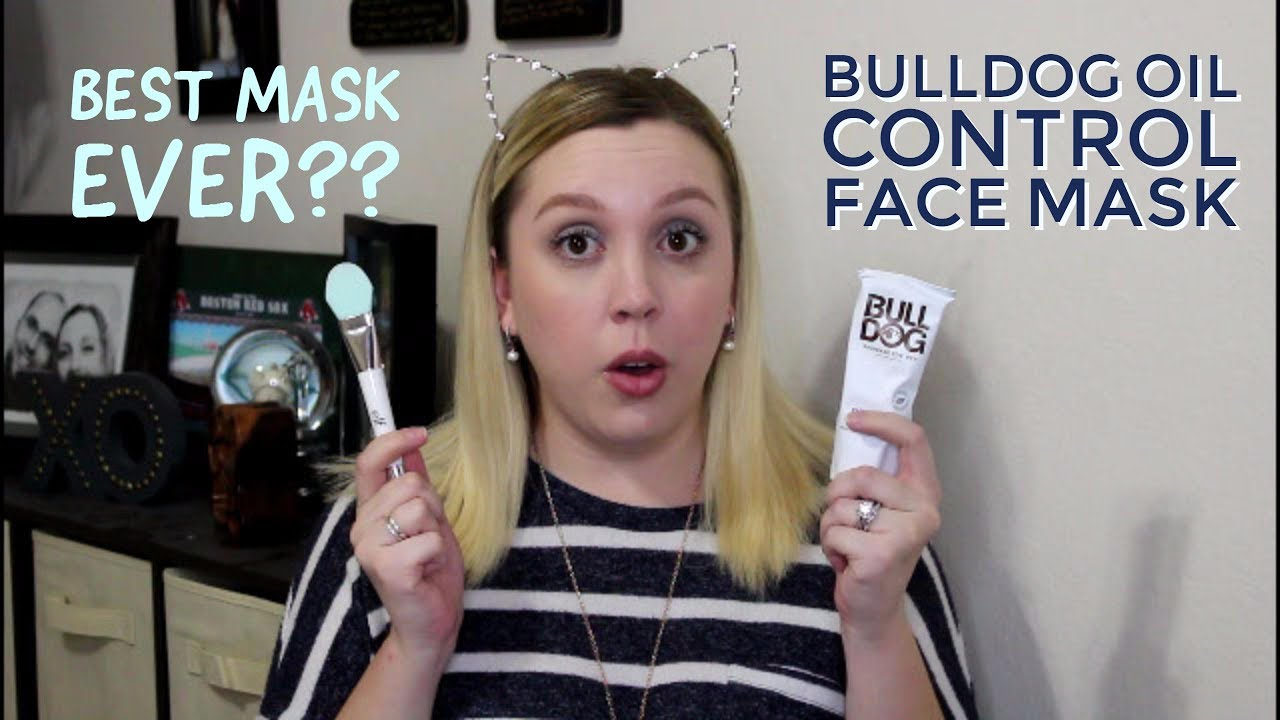 first impressions - bulldog oil control face mask - youtube