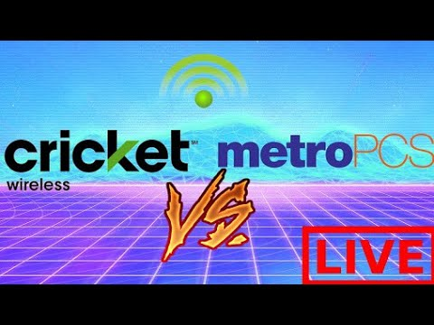 Cricket Wireless VS MetroPCS Review W/TechRight