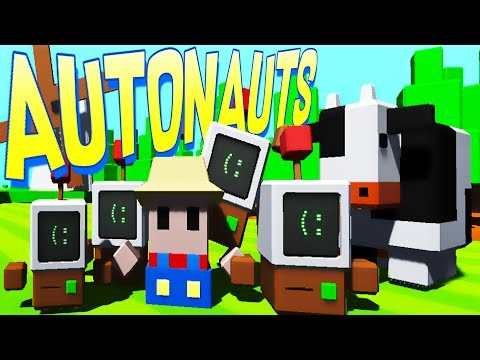 Autonauts - Programming Robot Workerbots! - Autonauts Gameplay - Alpha