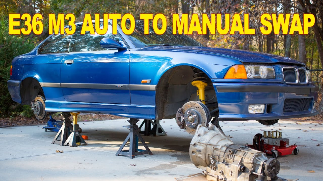 maxresdefault bmw e36 m3 auto to manual swap youtube E46 Wiring Diagram PDF at alyssarenee.co