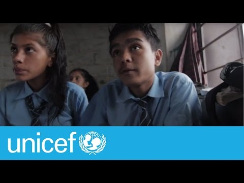 #EmergencyLessons: School = Hope For Children After Nepal Earthquakes   UNICEF