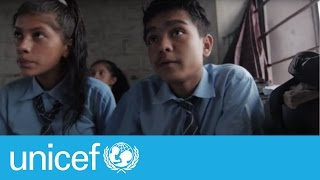 #EmergencyLessons: School = hope for children after Nepal earthquakes | UNICEF