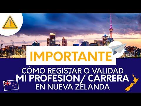 ¿Realmente necesitas validar / Homologar tu profesión en Nueva Zelanda? para trabajar