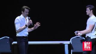 "Aaron Tveit and Gavin Creel Sing ""Take Me or Leave Me"" from RENT at MCC Theater MISCAST Benefit"