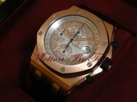 Audemars Piguet Royal Oak Offshore Pride of Russia Rose Gold Limited 200 Pieces, Ref # 26061OR