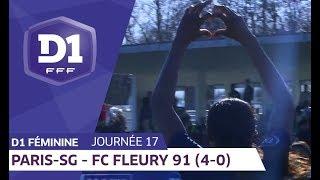 J17 :  Paris Saint Germain - FC Fleury 91 (4-0)