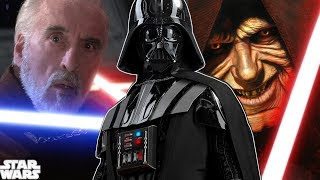 Palpatine FINALLY Explains Why He Betrayed Dooku To Darth Vader  - Star Wars Explained